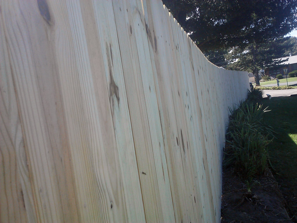 Wood Scotts Rudd Fence
